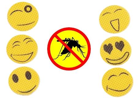 Pegatinas de citronela anti mosquitos for Velas anti mosquitos